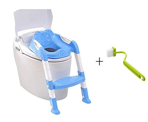Da.Wa Seggiolino Vasino con scala pieghevole per WC per bambini neonati bambini vasino