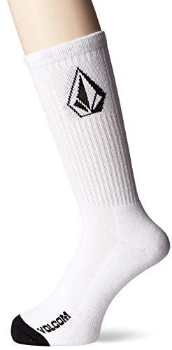 Volcom Herren Full Stone Sock dreier Pack White, One Size Volcom Volcom Full Stone
