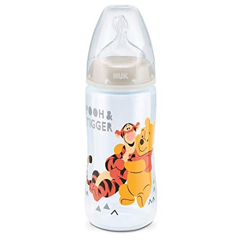 NUK Disney Winnie l 'Ourson Biberon Tétine T1M 300 ml