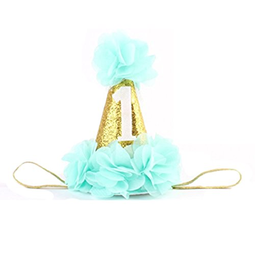 San Bodhi® Bambina Compleanno Corona Copricapo Tiara