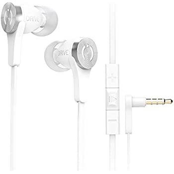 ff5fced555f MuveAcoustics Drive Wired In-Ear Headphones with Mic, Volume Control and  Deep Bass (