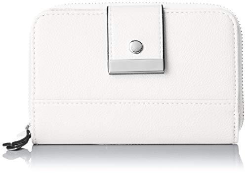 s.Oliver (Bags Damen 39.904.93.5618 Geldbörse, Weiß (White), 3x10x15 cm