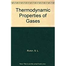 Thermodynamic Properties of Gases