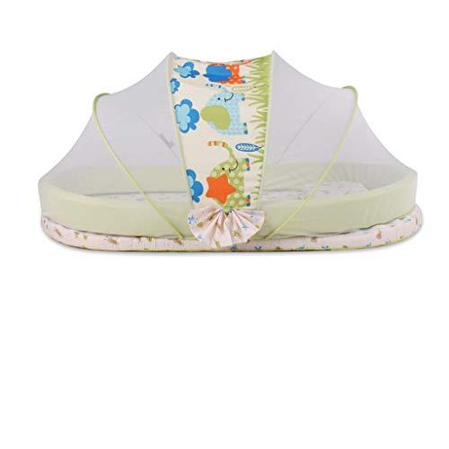 LZWH Multifunktionale tragbare Klappbett Kinderbett Spielbett mit