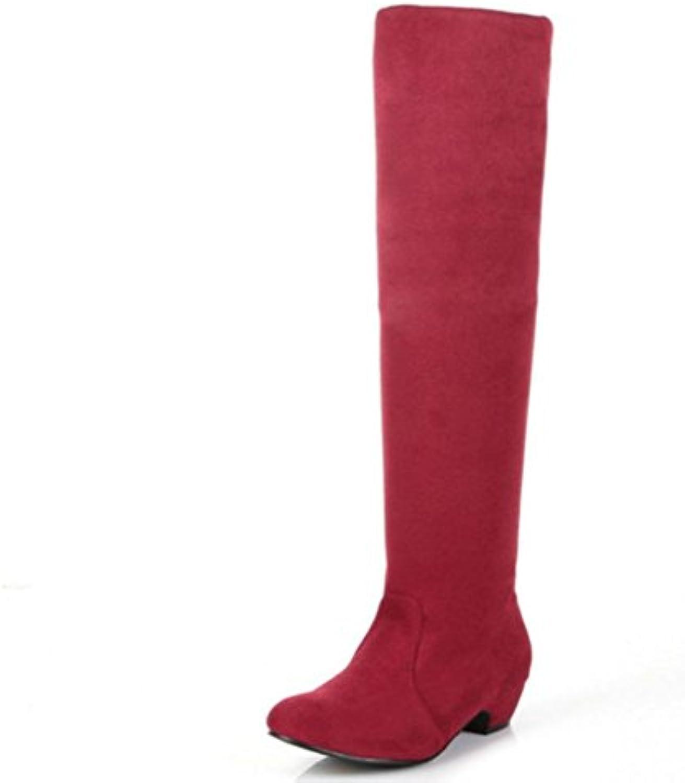 KUKI autunno stivali stivali cavaliere di grandi dimensioni femmina stivali di spessore con scarpe con tacco alto... | Valore Formidabile  | Uomo/Donna Scarpa