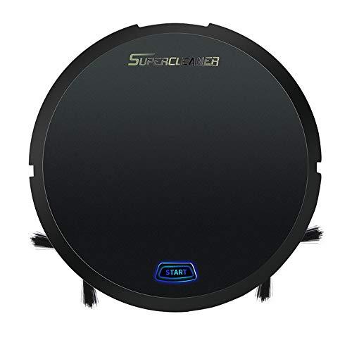 Aspirateur Robot Smart Force Essential pour Sols Durs jusqu'À 60 Min D'Autonomie Noir