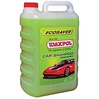 Waxpol Ecosaver Car Shampoo Concentrate - 5 L (for Bucket, Foam & Snow Foam Wash)