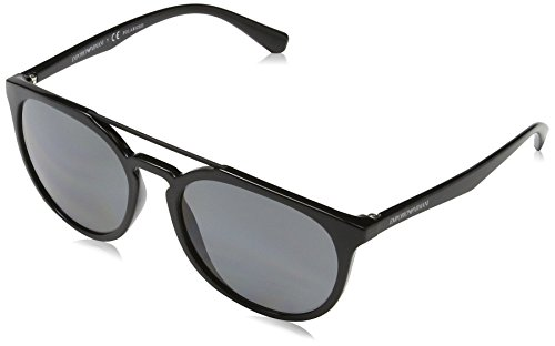 Emporio Armani Herren 0ea4103 Sonnenbrille, Schwarz (Black), 56