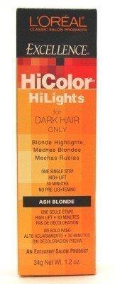 loreal-excellence-hicolor-hilights-ash-blonde-174-oz-case-of-6-by-loreal-paris