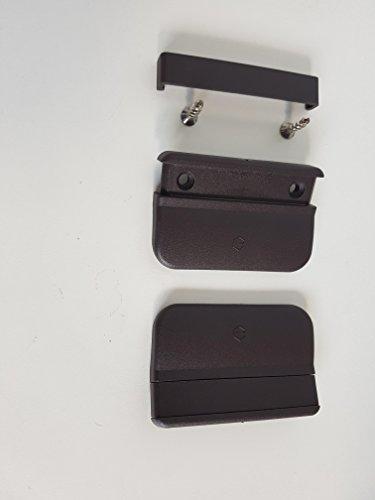 5 Stck Hoppe Kunstoff Balkontürgriff zum Anziehen K435 Ziehgriff terassentür