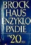 Brockhaus Enzyklopädie in 20 Bänden