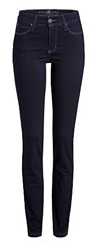 MAC Dream Skinny Damen Jeans Hose 0355l540290 , Farbe:D801dark rinsewash;Größe:W40/L28