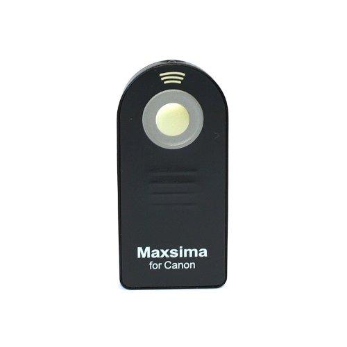 Maxsima-Telecomando RC-5telecomando IR (compatibile) Trigger per Canon EOS 350d, 400d, 450d, 500d, 550d, 600d, 650d EOS Kiss X2, EOS Kiss X3, Rebel XSi, Rebel XTi, EOS Digital Rebel, EOS 30, 30V, 33, EOS, EOS 50, 55EOS KISS III, EOS Kiss IIIl, EOS 100, 10, EOS 300V, EOS 300X, 300VQD, EOS IX, Jr,, IXUS II, III, Canon Sureshot, elan7Data, T1, T2Data, XSi, Xti, XT, Z180u, Z155, 120, 370Z, 370Z, G1, G2, G3, G5, G6, S70, S60, S1IS, Pro 1, Pro 90IS. Maxsimafoto-Prodotto Originale.