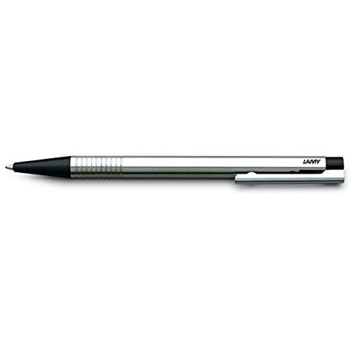 LAMY 205 logo Kugelschreiber Stahl / schwarz