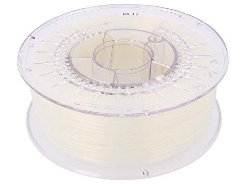 DEV-PA12-1.75-N Filament PA 12 1.75mm Natural Printing Temp 240-270°C