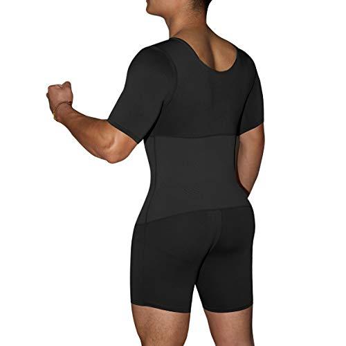 Q&m body shapewear pancia controllo biancheria intima culo lifter pieno corpo guaine,3xl