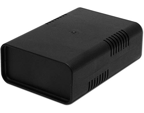 Donau Elektronik - KGB15 Euro Box klein, Schwarz , 95x135x45 - Euro-box