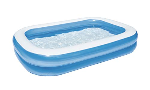 Bestway 54006 - Piscina familiar rectangular, color azul, 262 x 175 x...