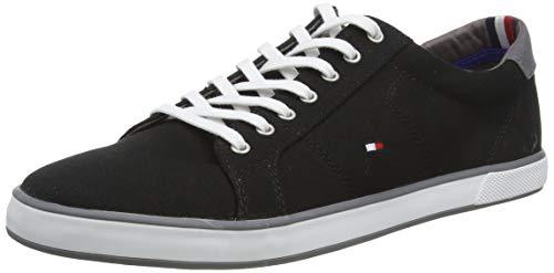 Tommy Hilfiger Herren H2285ARLOW 1D Sneakers, Schwarz (Black 990), 44 EU