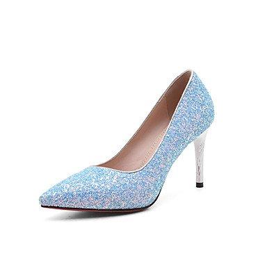 Zormey Fersen Fr¨¹hling Sommer Herbst Winter Club Schuhe Pu-Glitter Hochzeit B¨¹ro & Amp Karriere Kleid Stiletto-Absatz US9.5-10 / EU41 / UK7.5-8 / CN42