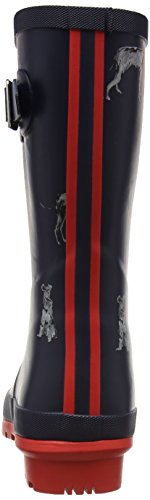 Tom Joule Mollywelly, Stivali di Gomma Donna Blau (French Navy Chic Dogs)
