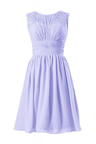 daisyformals dentelle vintage robe courte en dentelle robe de demoiselle d'honneur soirée robe (bm2529) Violet - #7-Lavender