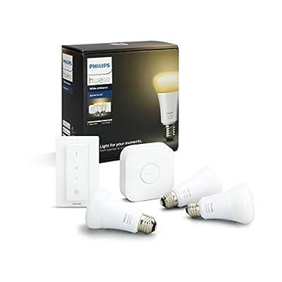 Philips Hue Lichtwecker - natürlich aufwachen mit Licht, steuerbar via App, kompatibel mit Amazon Alexa