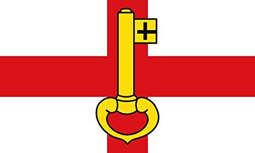 magFlags Flagge: Large Stadt RheinbergBeschreibung der Flagge In Weiß EIN durchgehendes rotes Kreuz | Querformat Fahne | 1.35m² | 90x150cm » Fahne 100{22fd069cd78de69c46cabeef8877f5abe2e044511cf3b347c77289566ef38935} Made in Germany