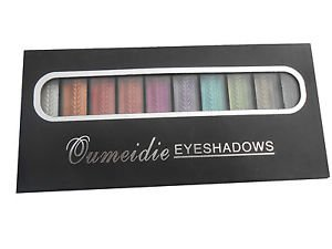 Qumeidie Cosmetics Corp USA True Pearl Eye Shadow, Multicolor, 11g