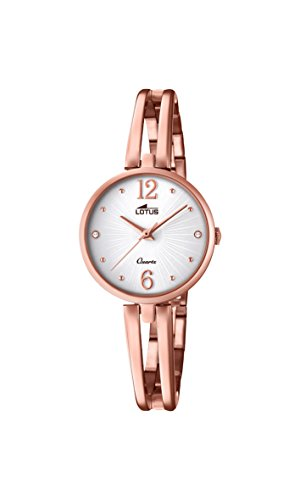 Lotus Watches Womens Analogue Classic Quartz Watch with Stainless Steel Strap 18444/1