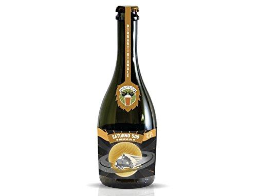 Birra artigianale umbra Saturno 500 American IPA birrificio magester bottiglia da 500 ml - Ipa Birra