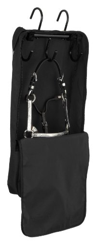 Robust 1Mini Halfter und Trense Tasche mit Rack, schwarz