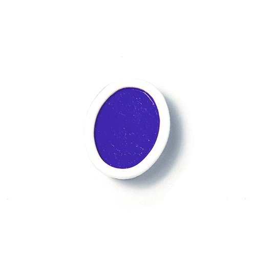 Prang Refill Pans for Oval Watercolor Set, 12 Pans per Box, Blue Violet (00816) by Prang Blue Oval Pan
