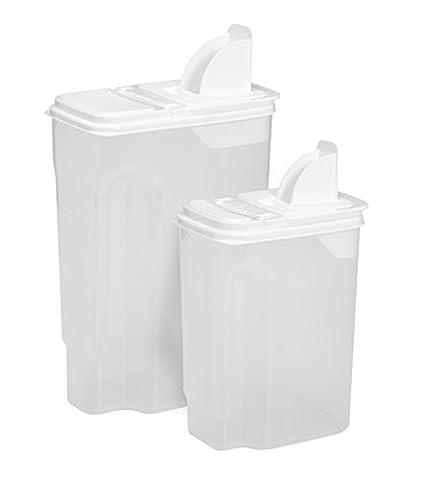 Buddeez Bag In All Purpose Dispenser Set, 8 quart and 3.5 quart by Buddeez