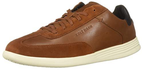 Cole Haan Herren Grand Crosscourt Turf Sneaker Turnschuh, British Tan Leather, 44 EU - Turf Turnschuhe