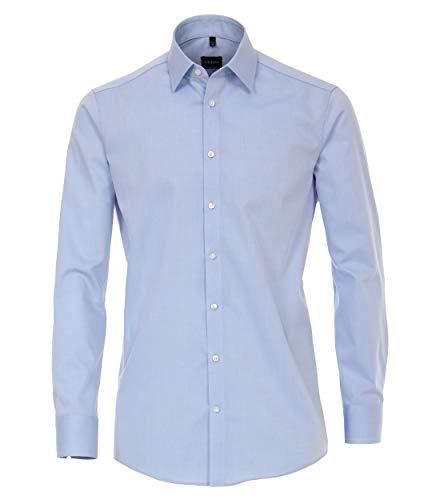 Venti Herren Businesshemd Hemd, Blau (Hellblau 115), 40