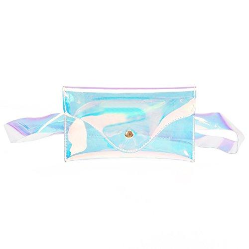 Taktom Mini Mode Strandtasche Frauen Messenger Nette wasserdichte Umhängetasche Crossbody Bag Handtasche Hüfttasche Brusttasche für Damen Mädchen