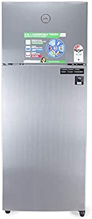 Godrej 260 L 3 Star Inverter Frost-Free Double Door Refrigerator (RF EON 260C 35 RCIF ST RH, Steel Rush, 6 in