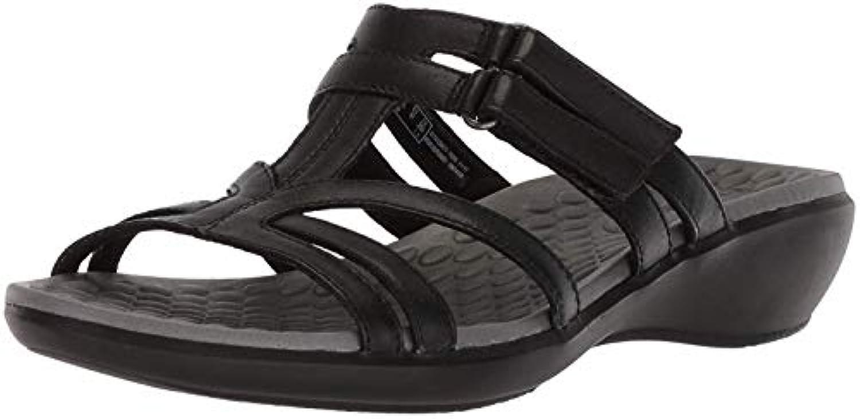 Clarks Wouomo Sonar Pilot Sandal, nero nero nero Leather, 8 Wide US | Il Più Economico  6b3f12