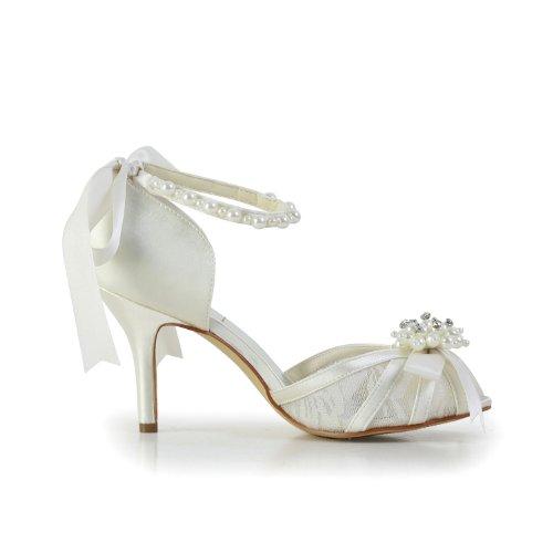 Jia Jia Wedding 083907 Scarpe Sposa Scarpe col tacco donna Beige