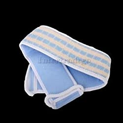 Alcoa Prime 1x Terry Cloth Back Strap Bath Sponge Scrubber Messager Exfoliating Exfoliator