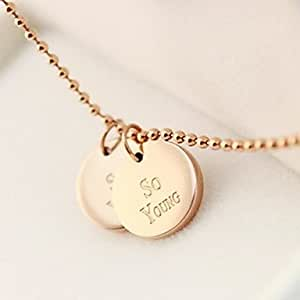 "Collier rond doublé ""So Young"""