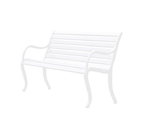 Fast Oasis Gartenbank 2 Plätze cm. 127 Art. 592 Farbe Weiß