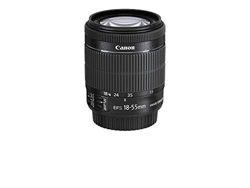 Canon EF-S 18-55mm f/4-5,6 IS STM Objectif Noir