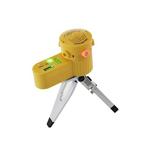 Multifunktions-Laser-Wasserwaage gleich horizontale vertikale Linie Tester Werkzeug mit Stativ strapazierfähiges tlv08 -