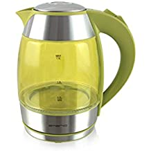 Emerio Wasserkocher, 1.8L, Glas, gelb, 2200W