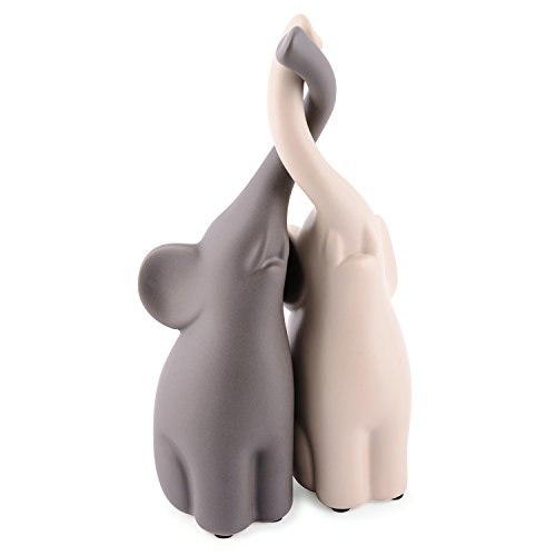 """Tier Deko : pajoma Figuren """"Verliebte Elefanten"""" 2er Set"""