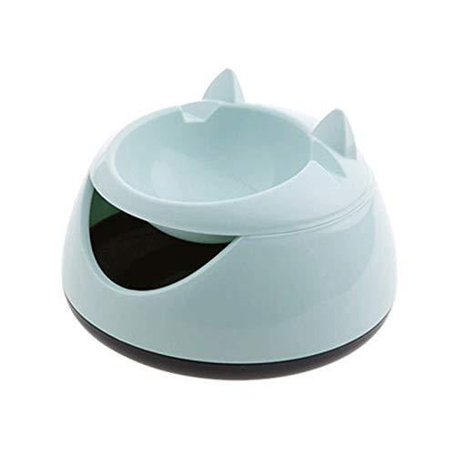 Haustier-Wasser-Brunnen Katze Trinkbrunnen Elektrische Katze Wasserspender Automatik Wasser (Color : Green)