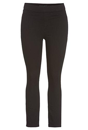 PEPPERMINT Plus Size - Schwarze Damen-Jeggings Hose Denim Jeans Frauen skinny Große Größen schwarz,48 Plus Size Skinny Jeans Groß