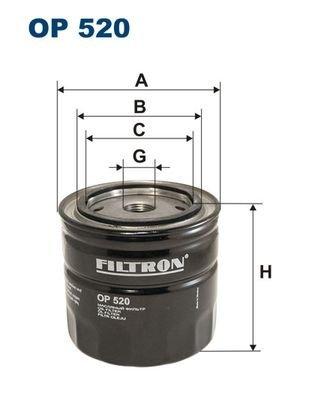Preisvergleich Produktbild FILTRON OP520 Motorblöcke